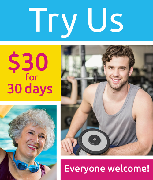 Try Us - 30 days for $30