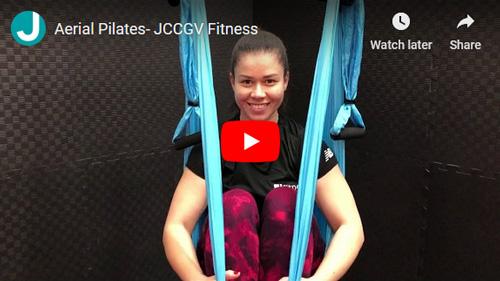 Aerial Pilates video